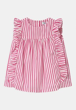Polo Ralph Lauren - STRIPE SET - Blusenkleid - pink/white