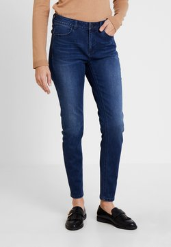 comma casual identity - TROUSERS - Slim fit jeans - blue denim