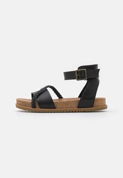 Blowfish Malibu - VEGAN FALTEN - Riemensandalette - black