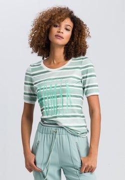 Marc Aurel - T-Shirt print - jade varied