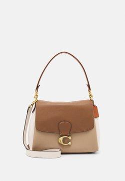 Coach - COLORBLOCK MAY SHOULDER BAG - Håndveske - vintage khaki multi