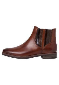 Marco Tozzi - CHELSEA BOOT - Ankle Boot - cognac ant.com