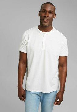 Esprit - PIQUE - T-Shirt basic - off white