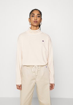 Champion Reverse Weave - HIGH NECK - Longsleeve - beige