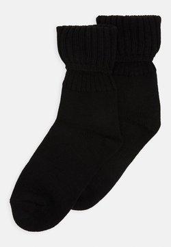 camano - ONLINE WOMEN SOCKS 2 PACK - Socken - black