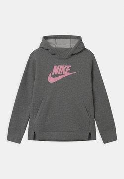 Nike Sportswear - Kapuzenpullover - carbon heather/pink