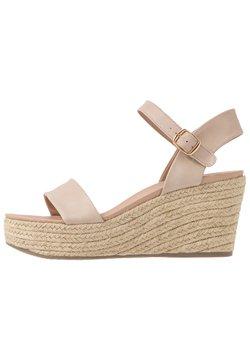New Look - PICKLE - Korolliset sandaalit - oatmeal