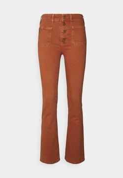 LOIS Jeans - GAUCHO - Flared Jeans - orange rust