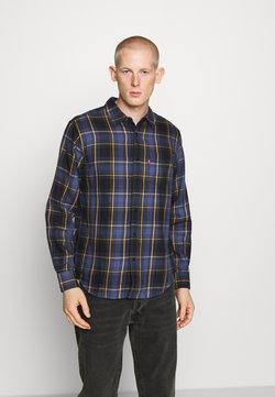 Levi's® - SUNSET POCKET STANDARD - Shirt - dark blue/blue/yellow