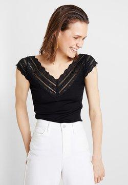Rosemunde - REGULAR WIDE - T-Shirt print - black