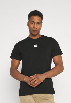 The North Face - CENTRAL LOGO  - T-Shirt print - black