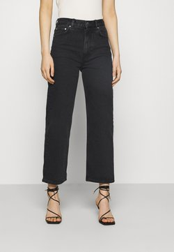 ARKET - PANTS - Straight leg -farkut - washed black