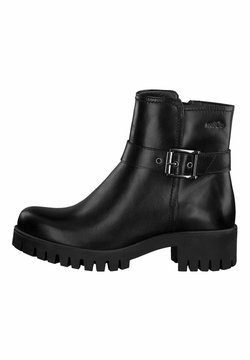 s.Oliver - STIEFELETTE - Ankle Boot - black
