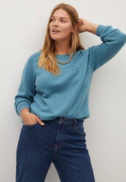 Violeta by Mango - ARAN - Pullover - blue