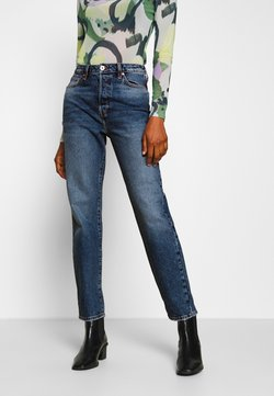 River Island - Straight leg jeans - dark blue denim