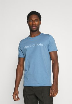 Marc O'Polo - SHORT SLEEVE CLASSIC - T-Shirt print - kashmir blue