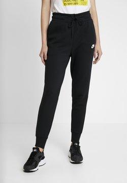Nike Sportswear - W NSW TCH FLC PANT - Jogginghose - black/white