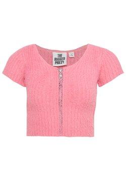 The Ragged Priest - PINKZIP EYELASH TOP - T-shirt imprimé - pink