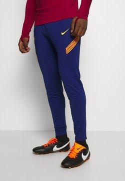 Nike Performance - FC BARCELONA DRY PANT - Equipación de clubes - deep royal blue/amarillo