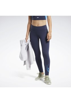Reebok - Tights - blue