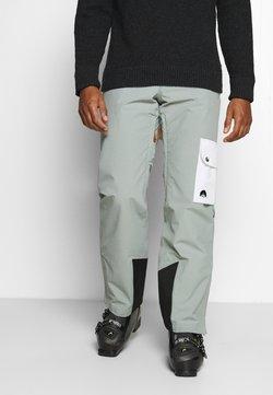 OOSC - FRESH POW PANT - Täckbyxor - grey