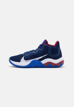 Nike Performance - RENEW ELEVATE - Basketballschuh - blue void/white/racer blue/deep royal blue/red crush