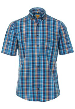 Redmond - MIT BUTTON DOWN KRAGE - Hemd - blau