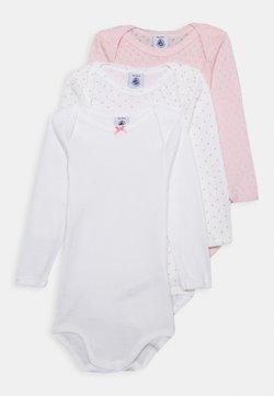 Petit Bateau - 3 PACK - Body - pink/white