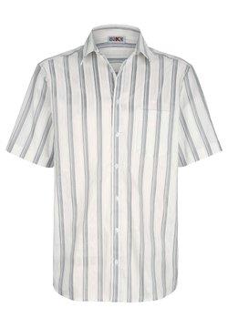 Roger Kent - Hemd - weiß silberfarben
