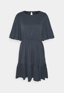Vero Moda - VMBARLETTA O NECK DRESS - Vestito estivo - ombre blue