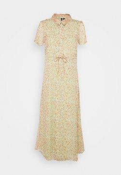 Vero Moda Petite - VMKAY ANKLE SHIRT DRESS PETITE - Maxikleid - laurel green