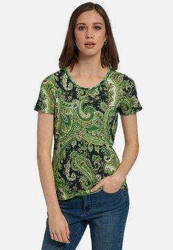 PETER HAHN - T-Shirt print - grün/multicolor
