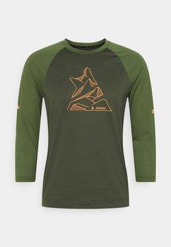 Zimtstern - PURE FLOWZ SHIRT 3/4 MENS - Funktionsshirt - forest night/bronze green
