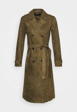 More & More - COAT - Trenchcoat - olive dust