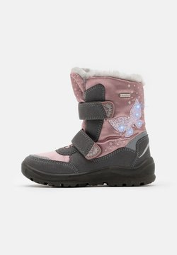 Lurchi - KIMA SYMPATEX - Snowboot/Winterstiefel - grey/pink