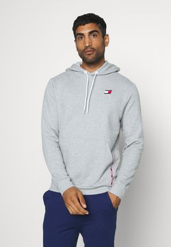 Tommy Hilfiger - PIPING HOODY - Huppari - grey