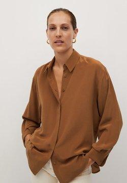 Mango - MADE - Camicia - braun