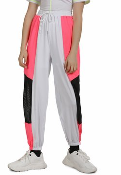 myMo ATHLSR - Jogginghose - neon pink/white