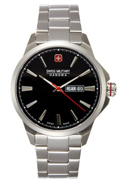 Swiss Military Hanowa - DAY DATE CLASSIC - Montre - black/silver-coloured