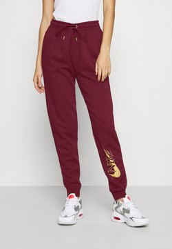 Nike Sportswear - PANT - Jogginghose - dark beetroot/metallic gold