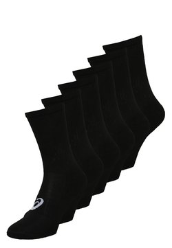 ASICS - 6 PACK - Calcetines de deporte - performance black