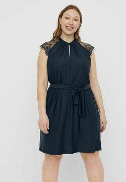 Vero Moda Curve - Cocktailkleid/festliches Kleid - navy blazer