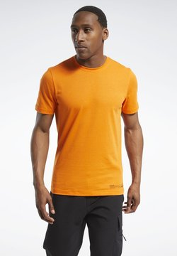 Reebok - EDGEWORKS GRAPHIC T-SHIRT - Funktionsshirt - orange