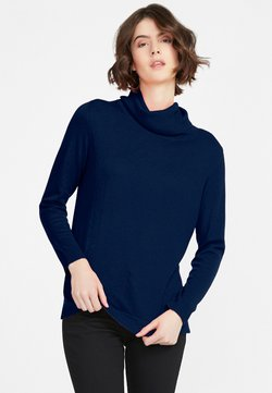 PETER HAHN - TAMARA - Strickpullover - dark blue