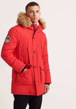 Superdry - EVEREST  - Wintermantel - deep berry