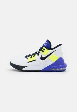Nike Performance - AIR MAX IMPACT 2 - Basketballschuh - white/black/indigo burst/volt