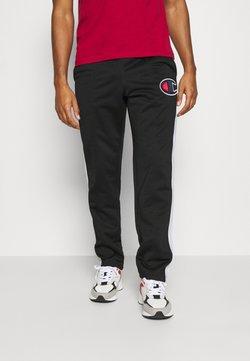 Champion - STRAIGHT PANTS - Jogginghose - black