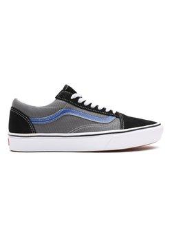 Vans - UA COMFYCUSH OLD SKOOL - Sneakersy niskie - (tri-tone) black/pewter