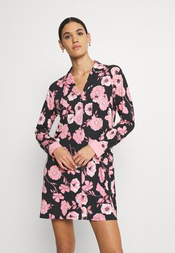 LASCANA - NIGHTGOWN - Nachthemd - black/rose