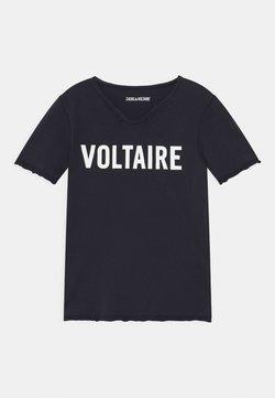 Zadig & Voltaire - T-shirt med print - navy